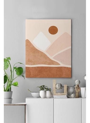 MarkaEv Canvas Modern Tablo 0179 Renkli